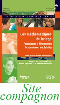Les mathématiques du Bridge - Couverture 1